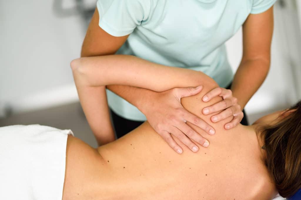 Como curar una tendinitis de hombro en nuestra clinica